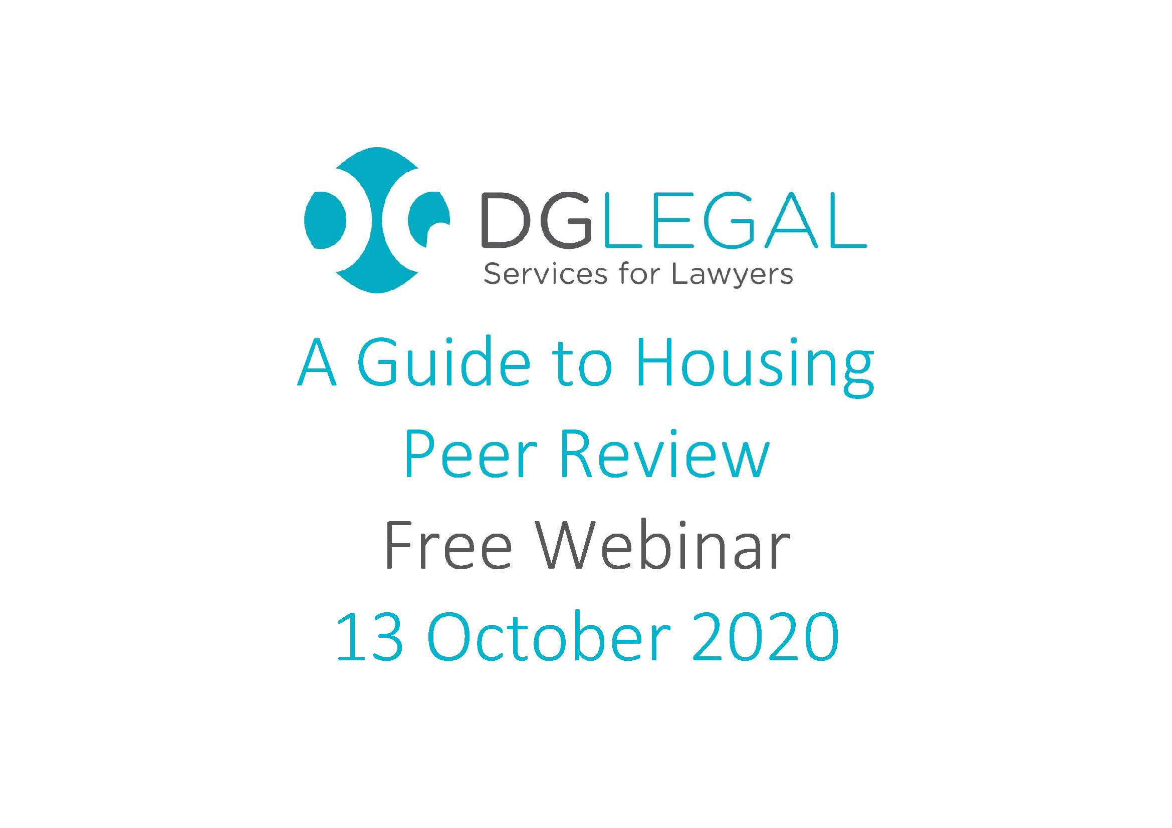 A Guide to Housing Peer Review Webinar