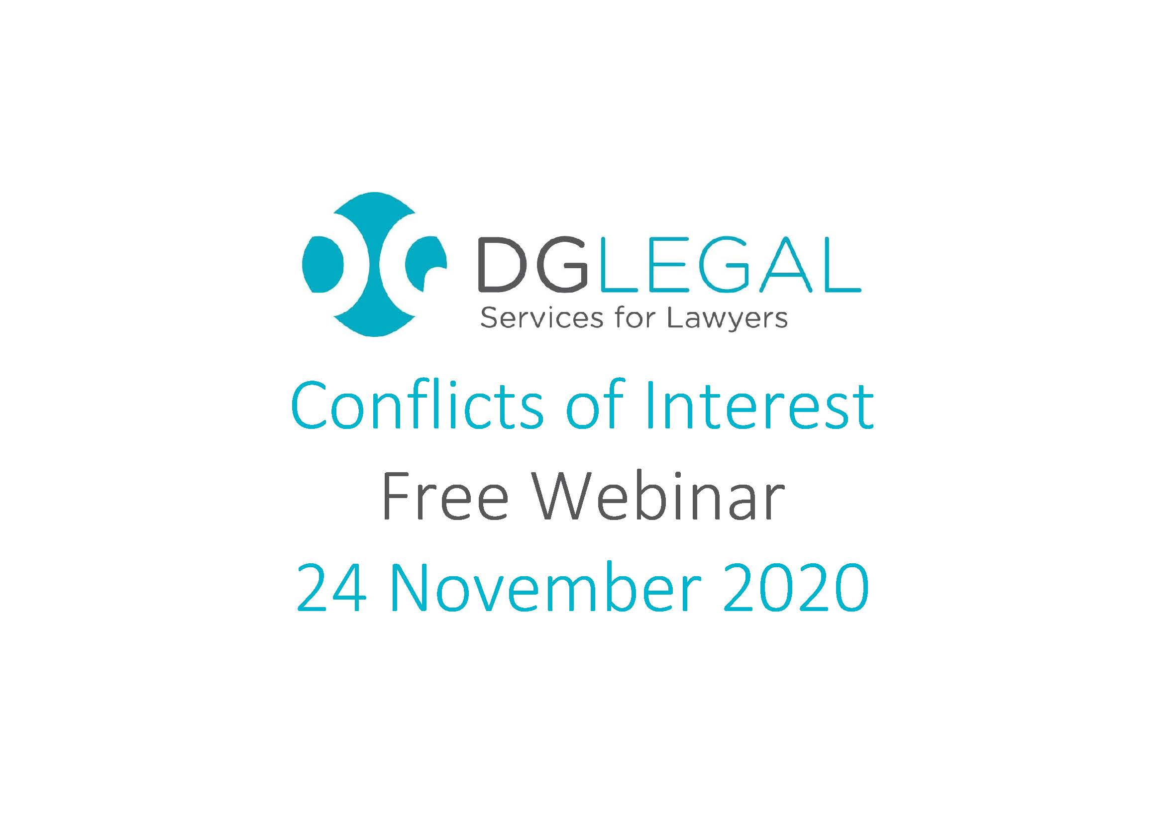 Conflicts of Interest Webinar
