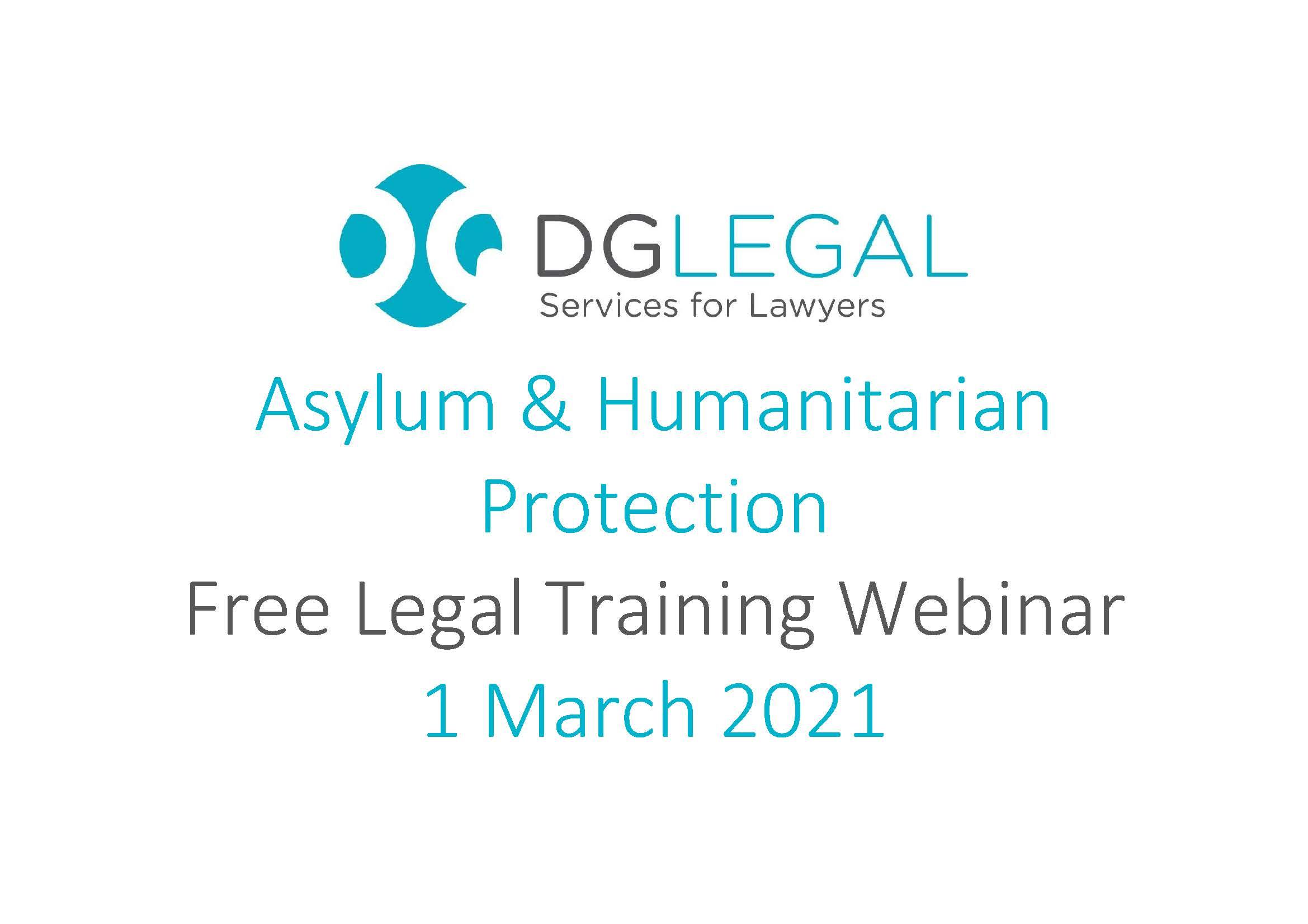 Asylum & Humanitarian Protection