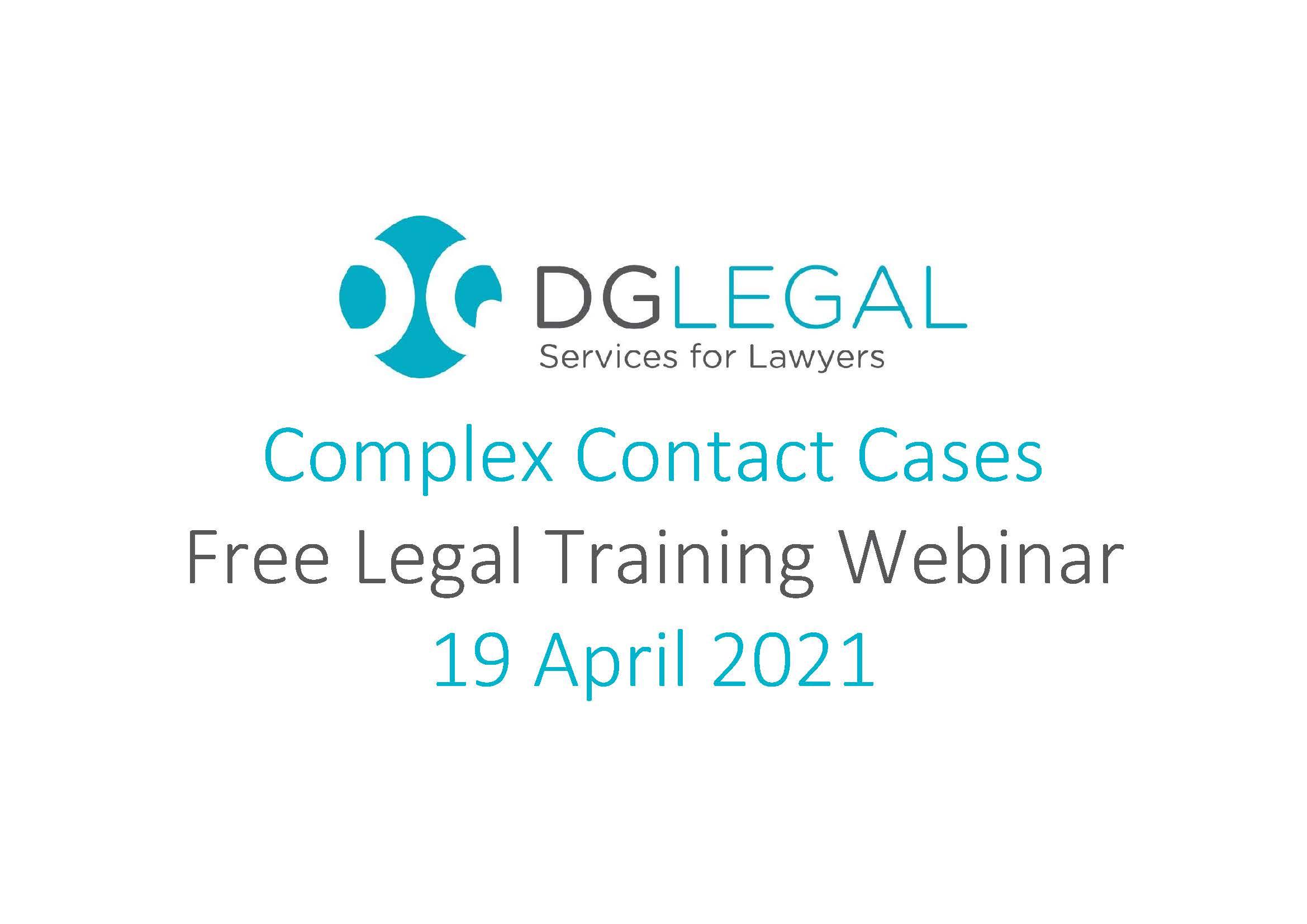 Complex Contact Cases
