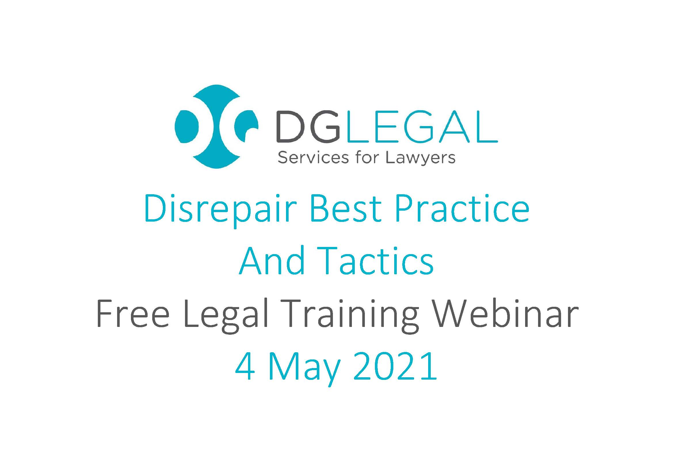 Disrepair Best Practice And Tactics