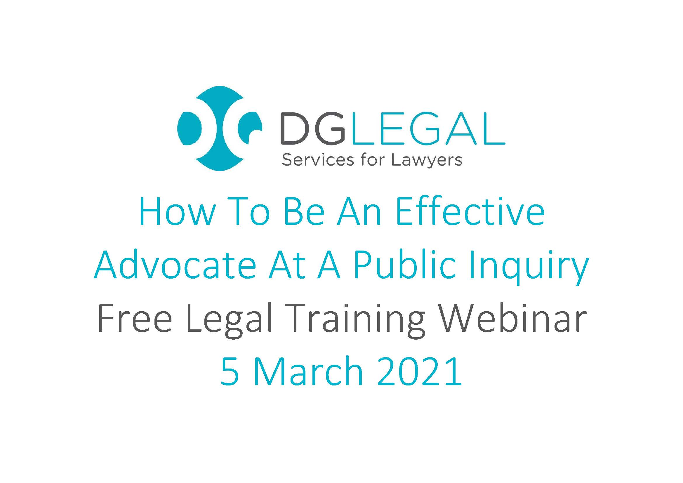 How To Be An Effective Advocate At A Public Inquiry