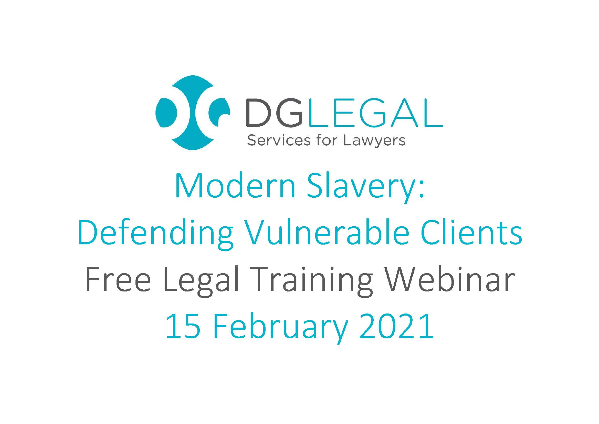 Modern Slavery Defending Vulnerable Clients