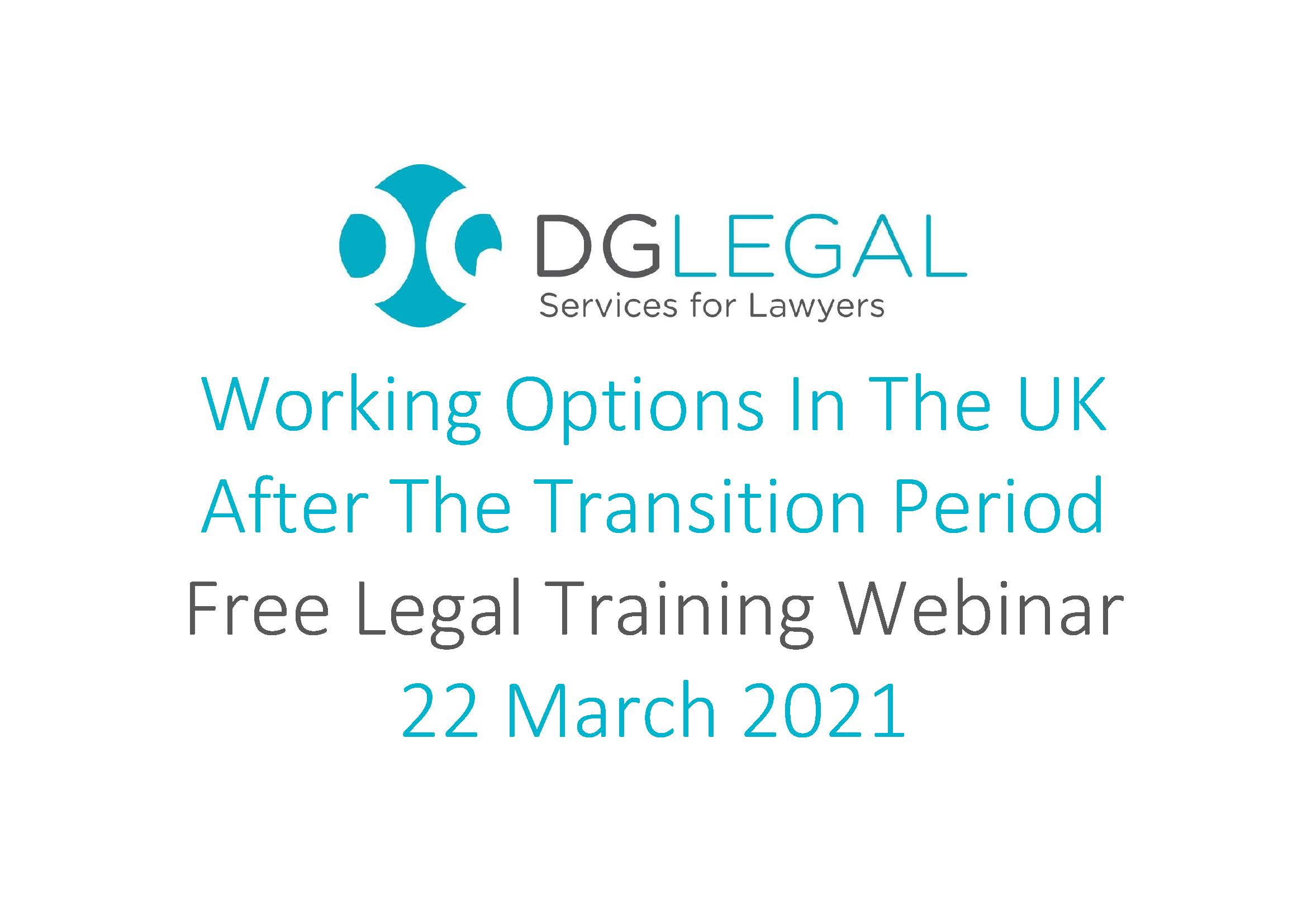Working Options In The UK After The Transition Period