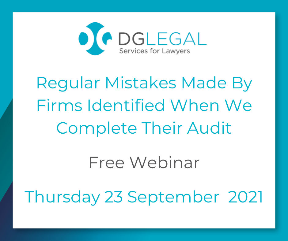 2021 - Charnwood - Regular Mistakes Made By Firms Identified When We Complete Their Audit