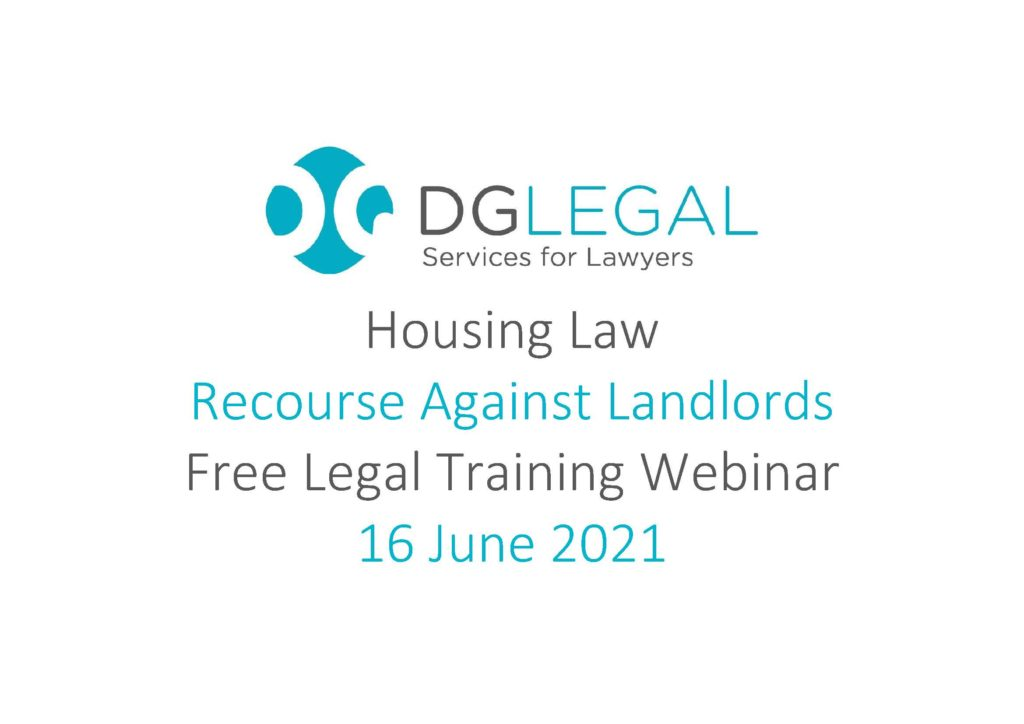 Recourse Against Landlords