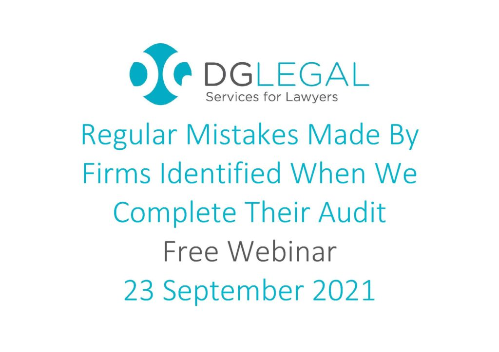Regular Mistakes Made By Firms Identified When We Complete Their Audit