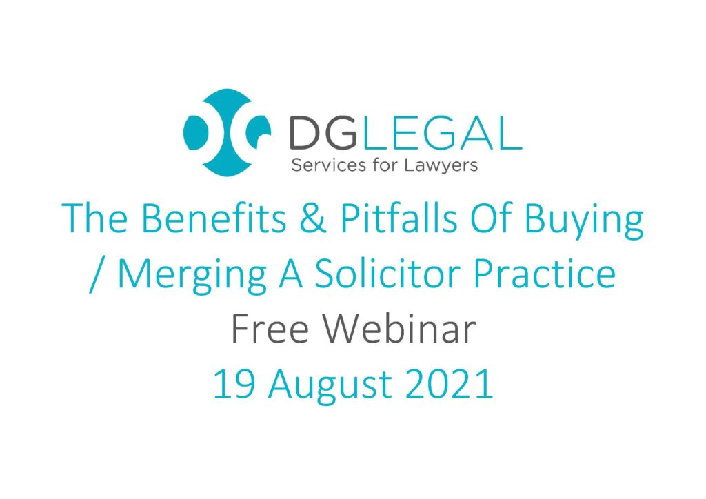 The Benefits & Pitfalls Of Buying or Merging A Solicitor Practice