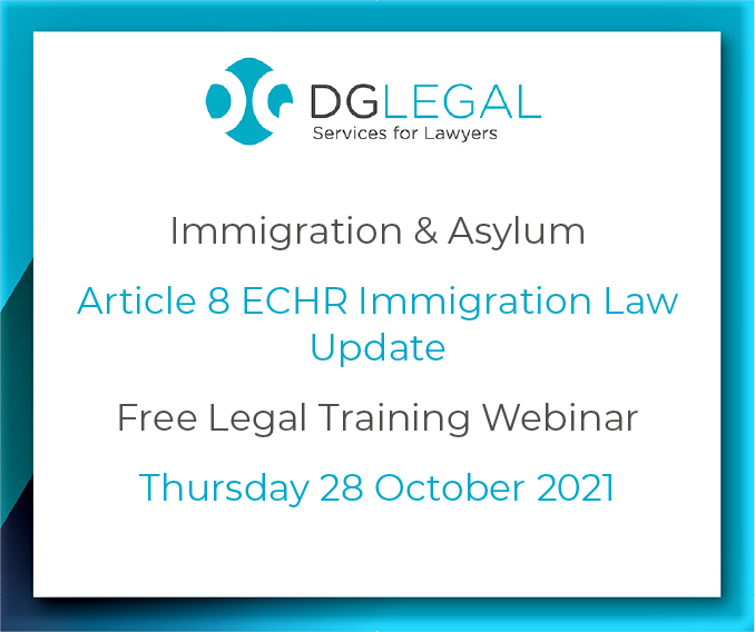 Article 8 ECHR Immigration Law Update