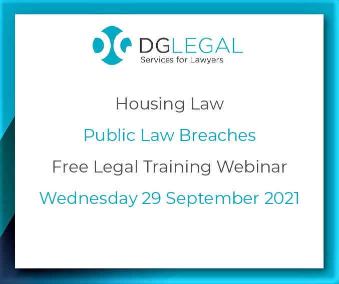 Public Law Breaches