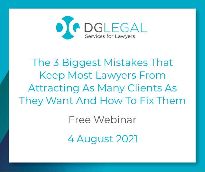 The 3 Biggest Mistakes That Keep Most Lawyers From Attracting As Many Clients As They Want And How To Fix Them