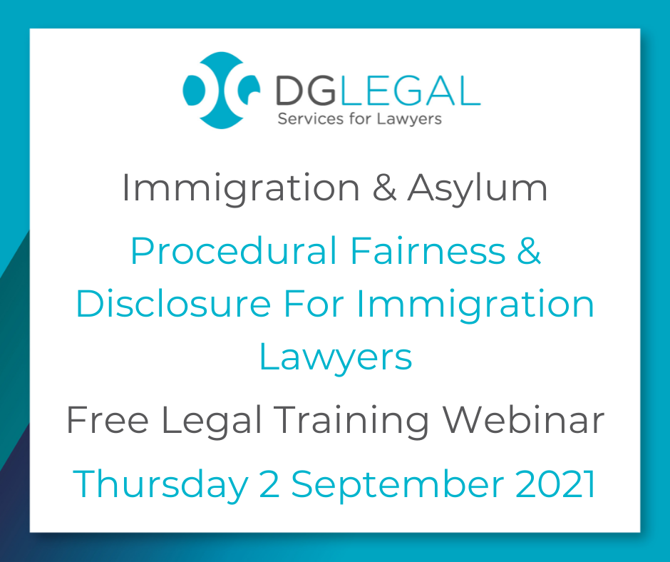 Procedural Fairness & Disclosure For Immigration Lawyers