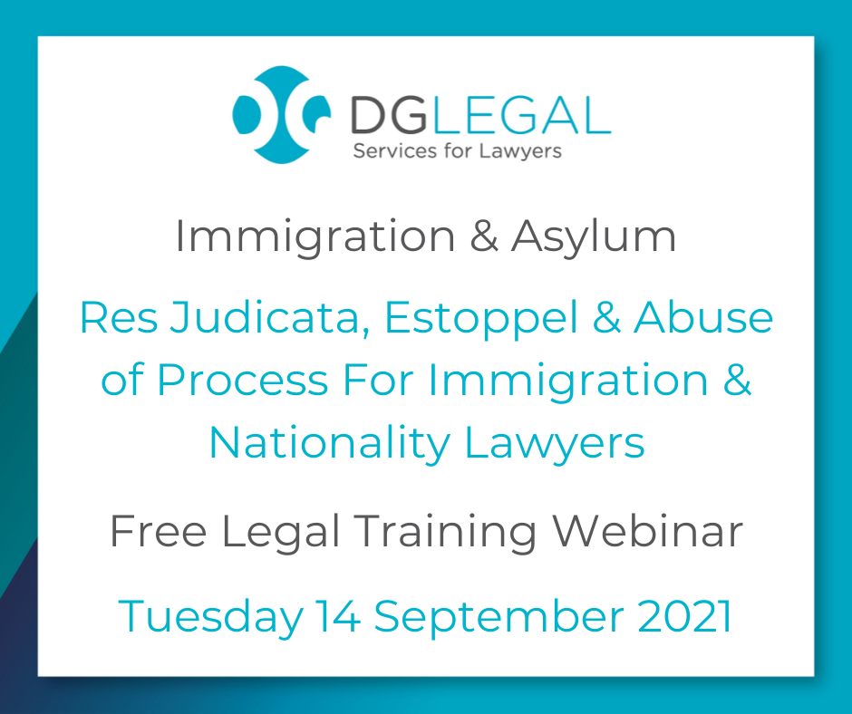 Res Judicata, Estoppel & Abuse of Process For Immigration & Nationality Lawyers