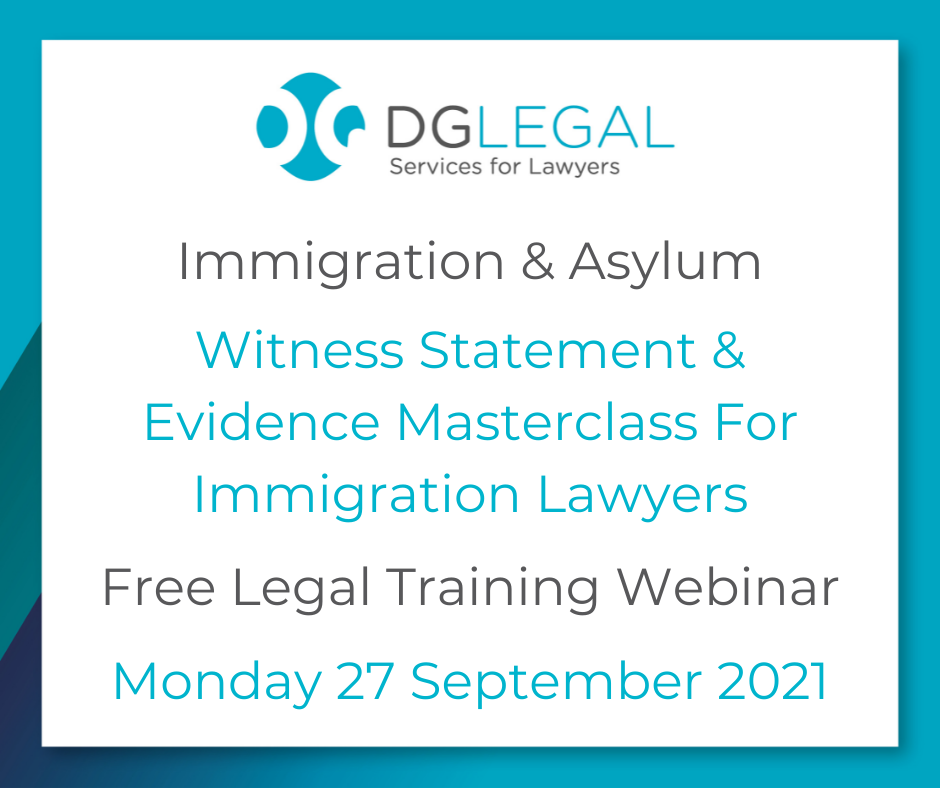 Witness Statement & Evidence Masterclass For Immigration Lawyers