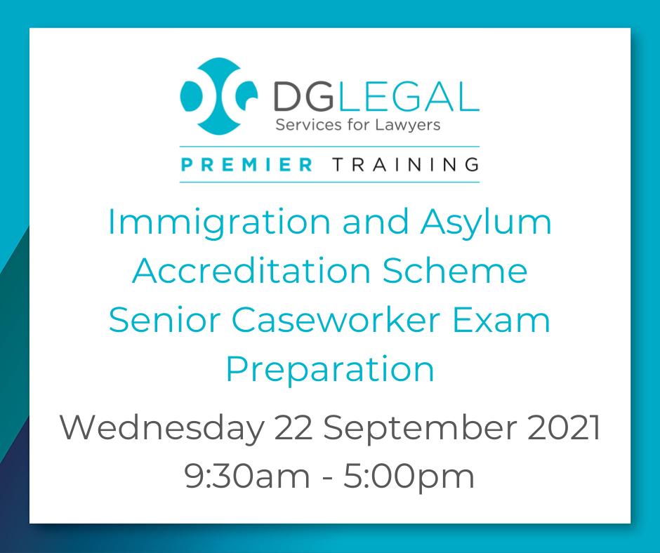 Premier Training - Senior Caseworker - 22.09.2021