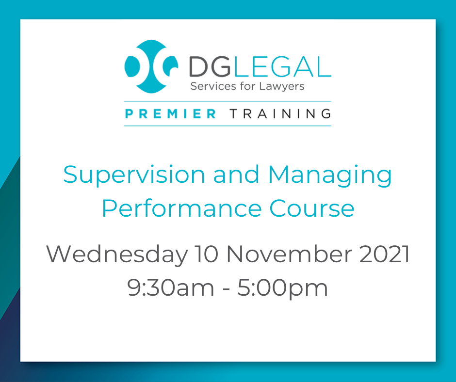 Supervision and Managing Performance Course – 10.11.2021